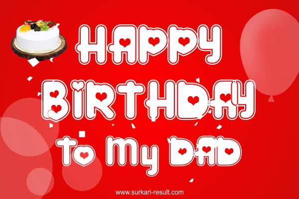 Happy birthday to my dad love