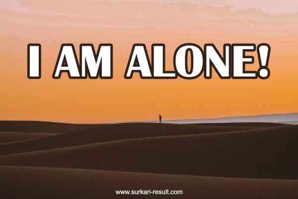 Iam-alone-dp-images