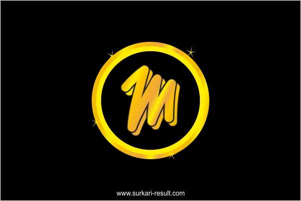 stylish-m-letter-image-golden
