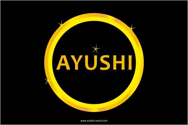 Ayushi-name-image-gold-circle