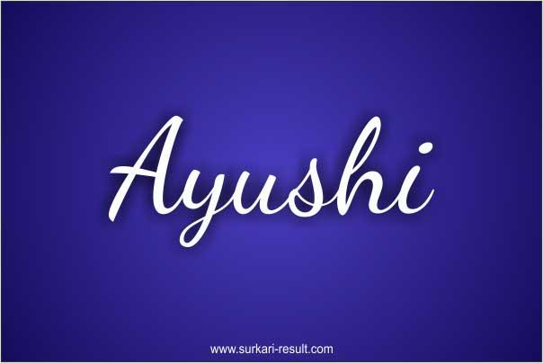Ayushi-name-image-white-blue