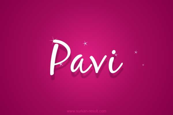 Pavi-Roshni-name-image-stars