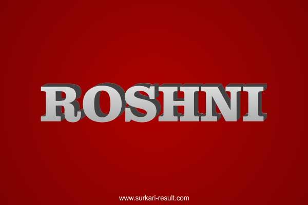 Roshni-name-image-steel-3d