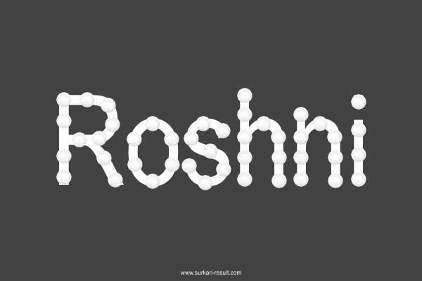 Roshni-name-images-chain