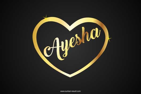 ayesha-name-image-golden-pendent