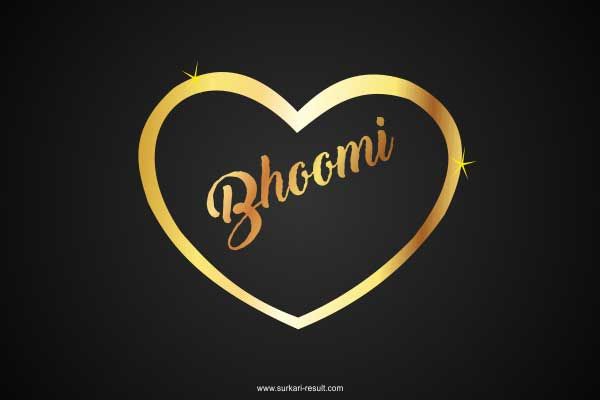 Bhoomi-name-image-golden-pendent