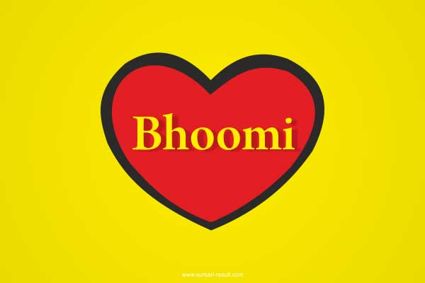 Bhoomi-name-in-heart-yellow-red