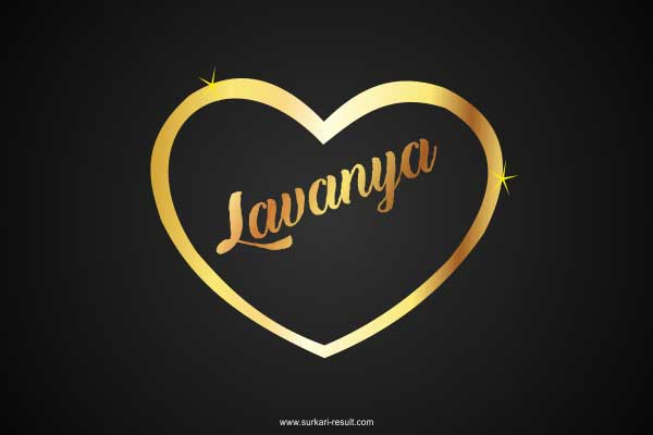 Lavany-name-image-golden-pendent