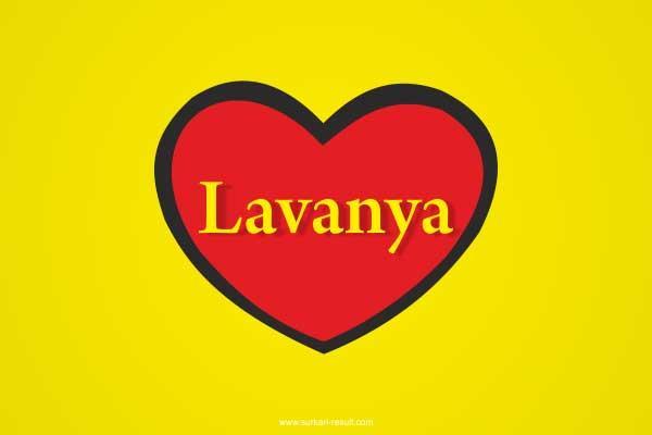 Lavanya-name-in-heart-yellow-red