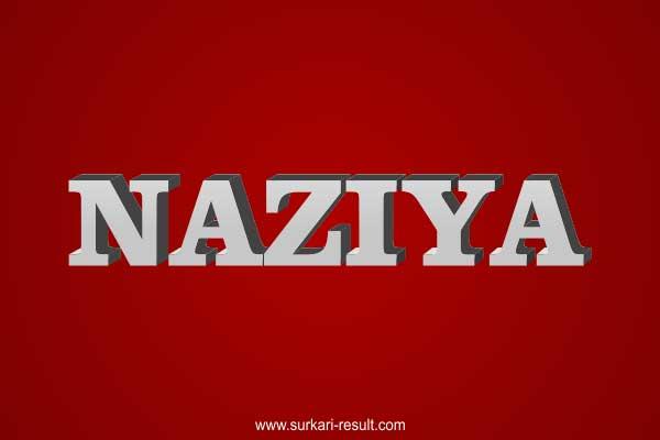 Naziya-name-image-steel-3d