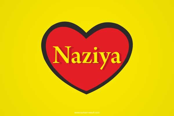 Naziya-name-in-heart-yellow-red