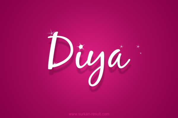 pink-Diya-name-image-stars