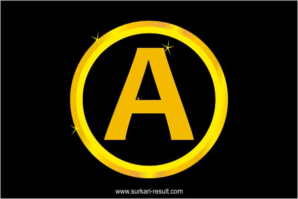 a-letter-image-gold-circle